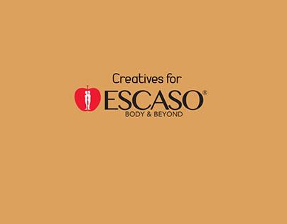 Creatives for ESCASO