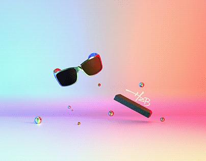 Sunglass & Logo Brand