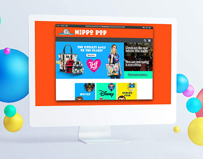 Hippo Pop - Brand & Content design