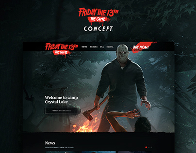 Friday The 13th Game website