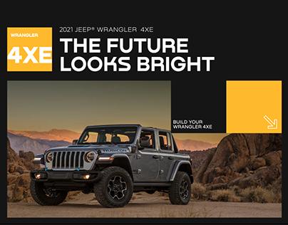 Jeep UX/UI concept