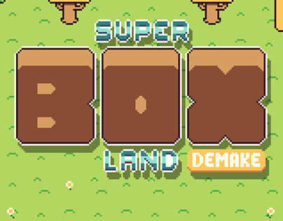 Super Box Land Demake - Game