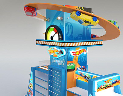 Toy Store Design with Mattel Brands