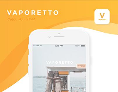 Vaporetto App Concept