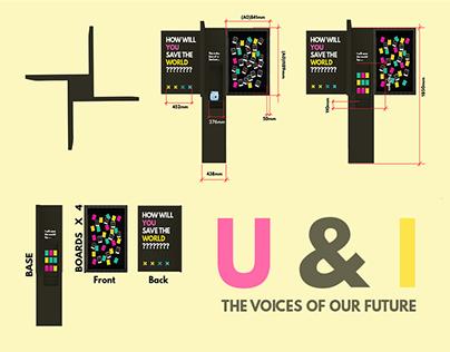 U & I - Exhibition Design