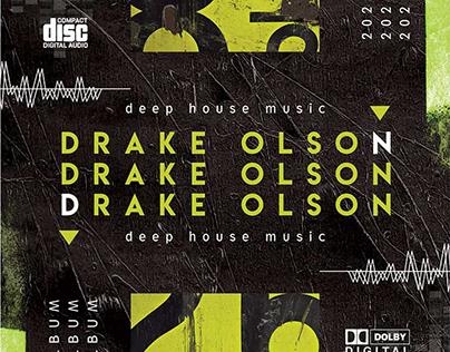 DJ Album – Premium CD Cover PSD Template