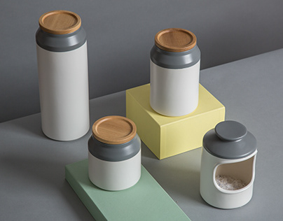 JAMIE OLIVER CERAMIC STORAGE JARS