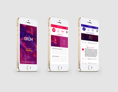 GRUM-UI/UX Design