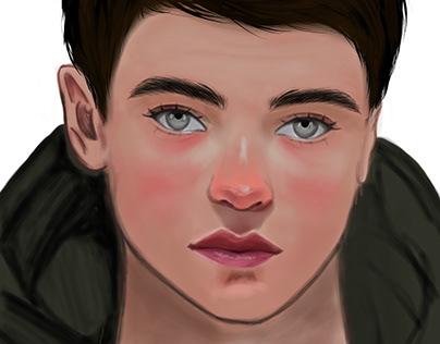 Ilustração - Ethan