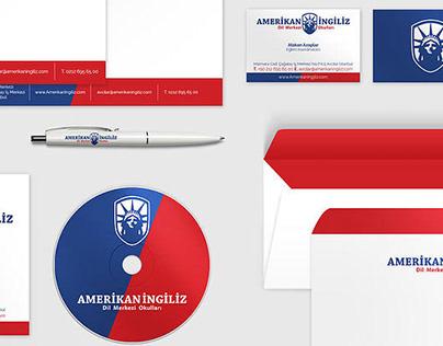 American English Language School | Branding