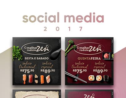 Social Media | Zen Cozinha Oriental