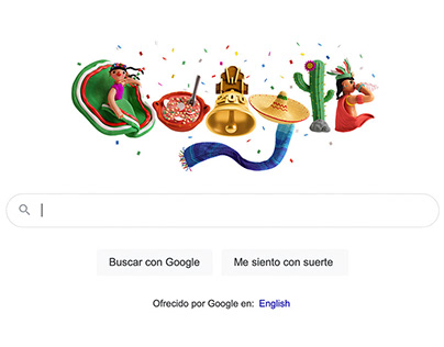 Google Doodle / Independencia de México