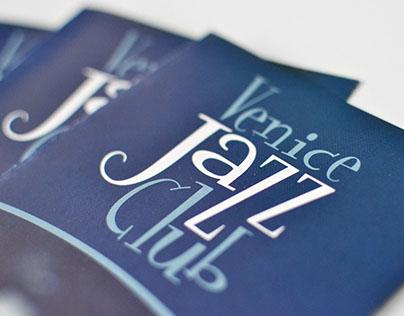 Logo & immagine coordinata per Venice Jazz Club