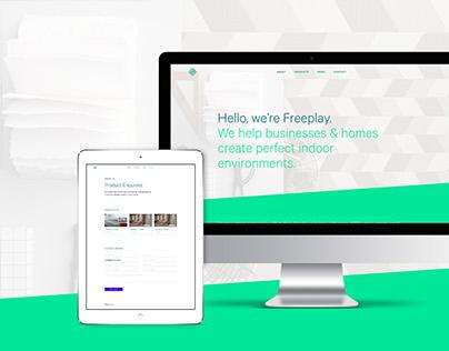 Freeplay—Website Design