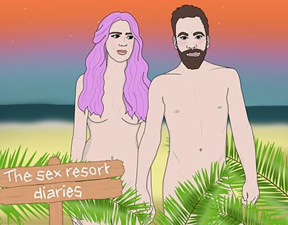 The Sex Resort Diaries Illustration Set