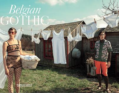 Belgian Gothic / L'OFFICIEL BE