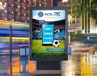 Adana Demirspor Billboard Tasarımı