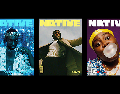 Native MAG The Rebel Issue - Editorial Design