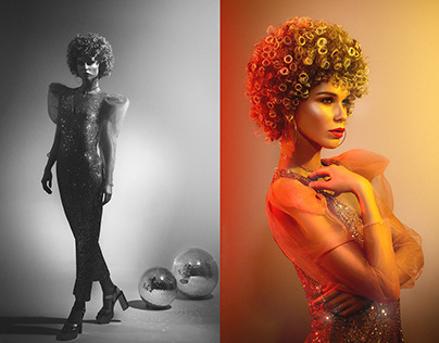 Retouch. Editorial