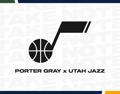 Utah Jazz Mock Social Content