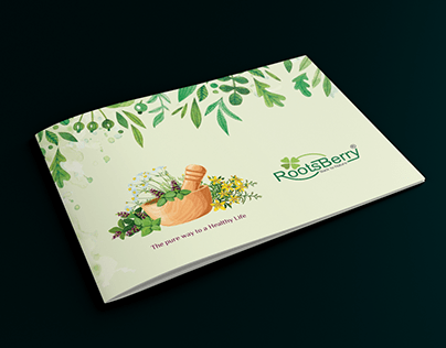 Booklet Design | Rootsberry Concept