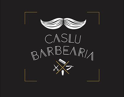 Logo Caslu Barbearia