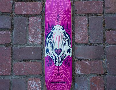 MudStick i - Skate Deck Design
