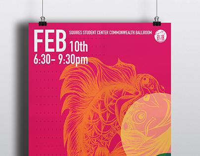 Temple fair Poster for ACSS at Virginia Tech