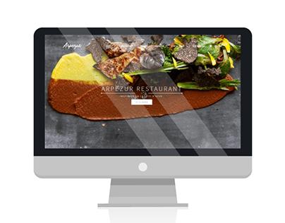 Desarrollo Web: Arpezur Restaurant