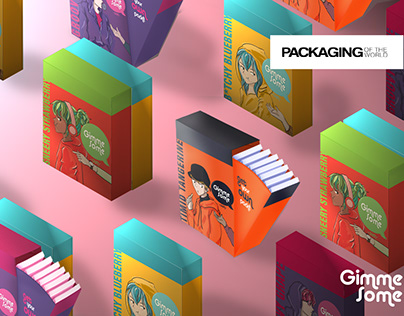 Gimme Some - Branding and Packaging for Bubble Gum