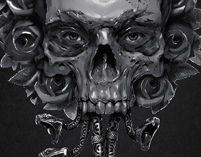 Digital Art - The Dark Side of Beauty