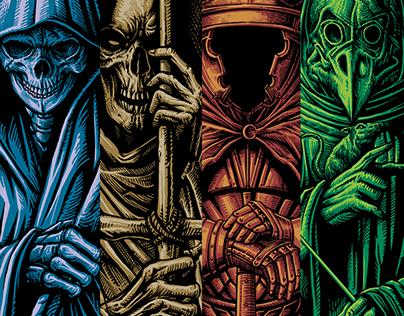 The Image of Four Horsemen