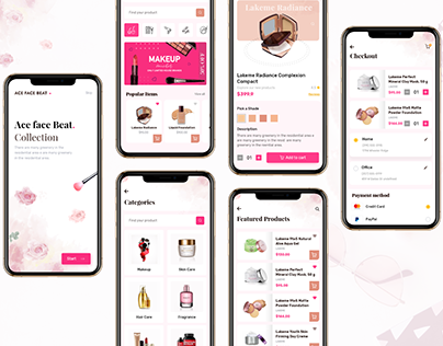 On-demand Beauty Shopping App