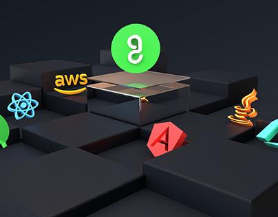 3D Programming icons
