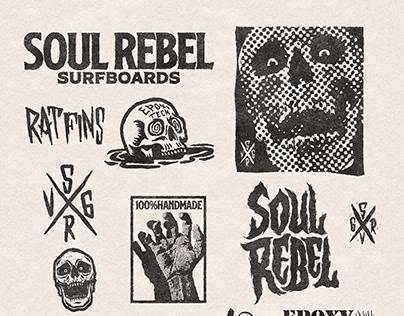 Surfboard brand - Soul rebel