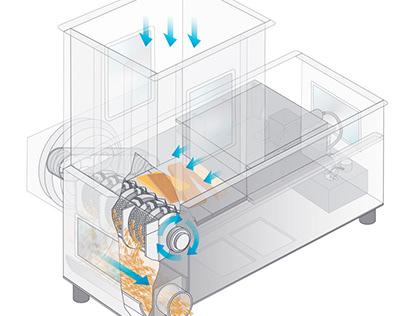 Illustration für Technik und didaktische Medien