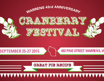 Warrens 43rd anniversary Cranberry Festival