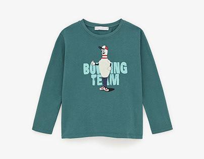 ZARA BOYS - Bowling T-shirt