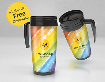 Free Thermos MockUp