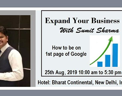 Expand your Business with Sumit Sharma