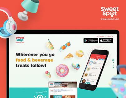 SweetSpot Website