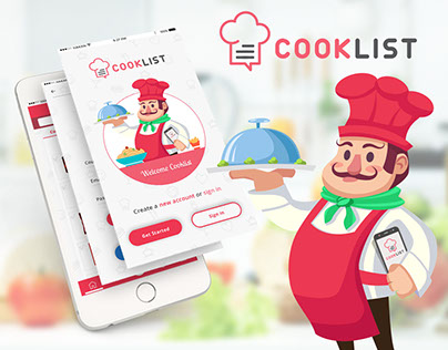 Cook List Mobile App
