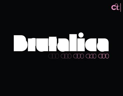 Brutalica Typeface