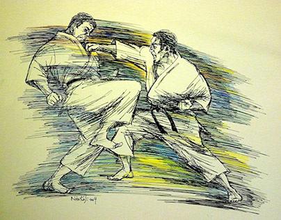 Karate Illustrations