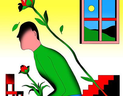 Isolation Blues, illustration