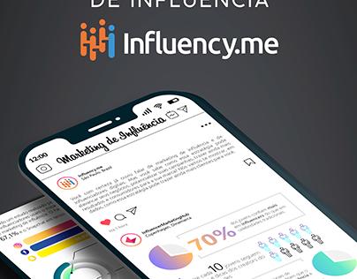 Infográfico - Dados sobre marketing de influência