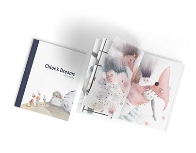 Chloe's dreams. Children's Book Illustration