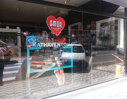 Espaço produtos Kathavento em loja