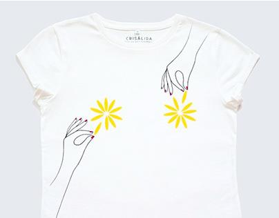Crisálidad / Serigrafía textil