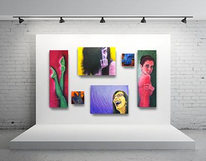 Com/part/men/tal/i/za/tion Painting Series